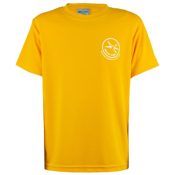 Yellow House Shirt